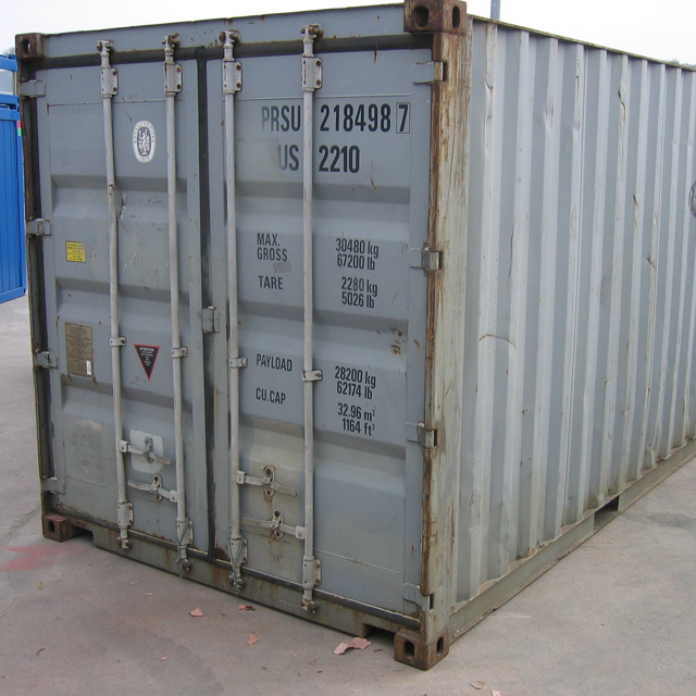 Used Containers Greenwell Equipment